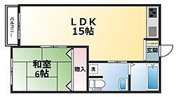 セピアハウス遠浦[1階]の間取り