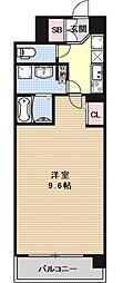 インベスト京都堀川[503号室号室]の間取り