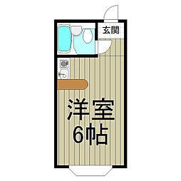 ベルピア・鎌倉第2−2[203号室]の間取り