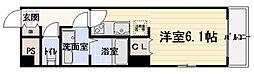 大阪府守口市豊秀町2丁目の賃貸マンションの間取り