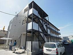 千葉県流山市流山8丁目の賃貸アパートの外観