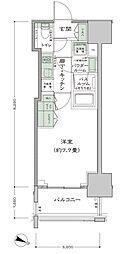 シティハウス東麻布[11階]の間取り