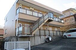 宮城県仙台市青葉区中山4丁目の賃貸アパートの外観