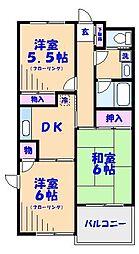 KOSHINエステートI行徳[102号室]の間取り