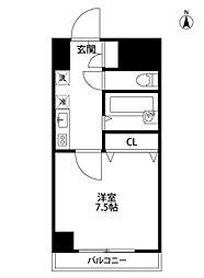 オルザス新潟[5階]の間取り