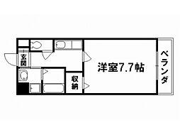 コーポエル[2階]の間取り