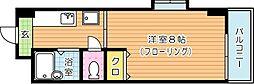 パークハウス八幡[4階]の間取り