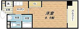 アーバンステージ安堂寺II[7階]の間取り