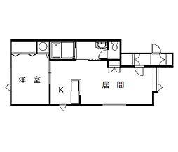 ダヴィンチⅢ[1階]の間取り