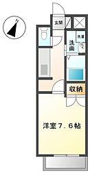 メゾンドガスパール名駅[4階]の間取り