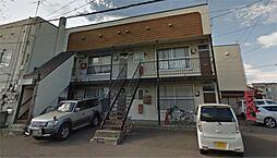 北海道札幌市東区北二十八条東8丁目の賃貸アパートの外観
