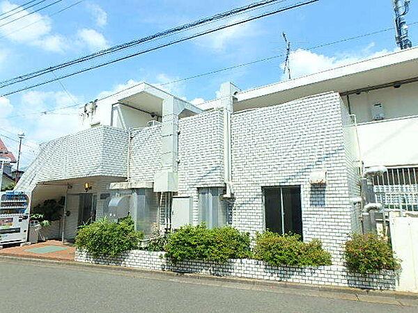 神奈川県座間市入谷東3丁目の賃貸マンションの外観