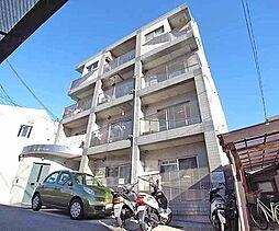 京都府京都市山科区竹鼻西ノ口町の賃貸マンションの外観