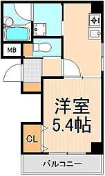 東京都台東区東上野6丁目の賃貸マンションの間取り