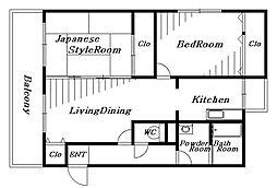コンフォールMI[1階]の間取り