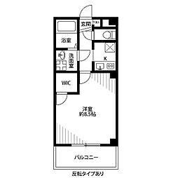 Casa Domani[407号室]の間取り