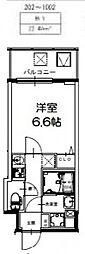 S-RESIDENCE新大阪Ridente[1004号室号室]の間取り