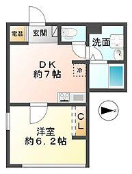 MGマンション[3階]の間取り