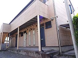 埼玉県久喜市久喜中央1丁目の賃貸アパートの外観