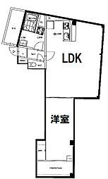 ツカサハイツ9[201号室]の間取り