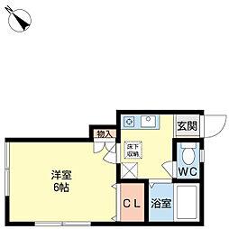 メゾンシャトーII[105号室]の間取り
