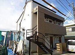 神奈川県川崎市多摩区西生田5の賃貸アパートの外観