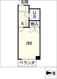 Surfer Dream II[2階]の間取り