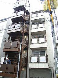 京都府京都市下京区油小路通下魚棚下る油小路町の賃貸マンションの外観
