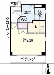 アドニス菊坂[3階]の間取り