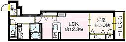 (仮称)セジュール関目6番館 1階1LDKの間取り