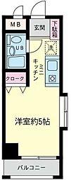 神奈川県横浜市港南区丸山台1丁目の賃貸マンションの間取り