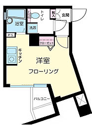 グランティアラ東京EAST[2階]の間取り
