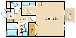 AMOUR ASABU[2階]の間取り