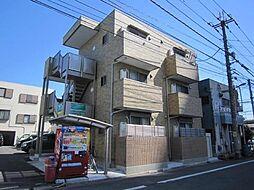 埼玉県川口市金山町の賃貸アパートの外観