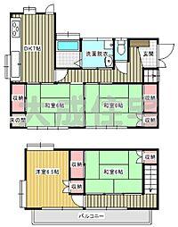 [一戸建] 宮崎県宮崎市清武町加納 の賃貸【/】の間取り