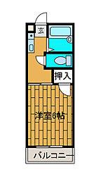 コーポラス大塚[2階]の間取り