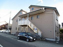 神奈川県平塚市桃浜町の賃貸アパートの外観