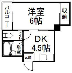 サンシャイン京都[103号室]の間取り