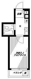 サンコート野方[2階]の間取り