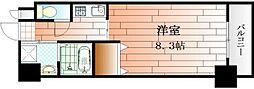 アンシャール[2階]の間取り