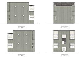 新築 トスカーニ[203号室号室]の外観