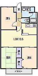 CENTURY HIGHLAND[11階]の間取り