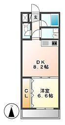 城木館[3階]の間取り