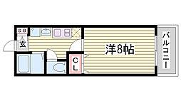 サンコーガルフタワー[7階]の間取り