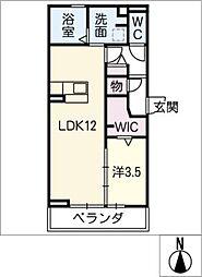 仮)D−room京町[2階]の間取り