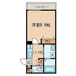 東京都台東区根岸2丁目の賃貸マンションの間取り