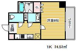 兵庫県神戸市中央区下山手通3丁目の賃貸マンションの間取り