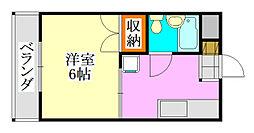 コーポ須藤[103号室]の間取り