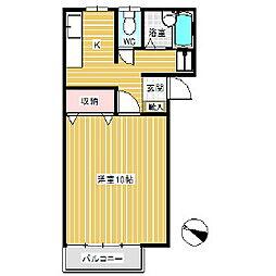 トリコロールハウス[1階]の間取り