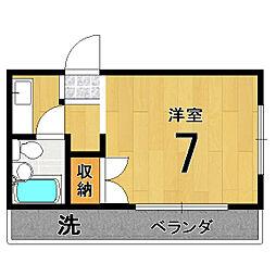 バルーンクラブ2[4E号室]の間取り